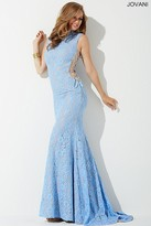 Jovani Side Corset Lace Prom Dress 37469