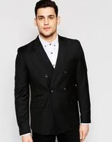 Antony Morato Double Breasted Blazer in Slim Fit