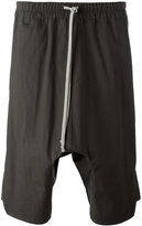 Rick Owens drop-crotch shorts - men - Cotton/rubber - 50