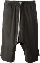 Rick Owens drop-crotch shorts - men - Cotton/rubber - 50