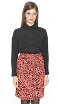 PepaLoves Printed Knee-Length Skirt