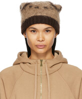 Thumbnail for your product : Gucci Beige Mohair GG Beanie