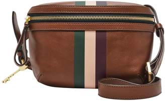 Fossil Brenna Convertible Leather Belt Bag