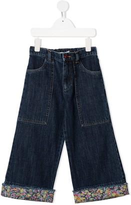 Philosophy Di Lorenzo Serafini Kids Wide-Leg Jeans