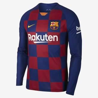 Nike Men's Long-Sleeve Soccer Jersey FC Barcelona 2019/20 Stadium Home