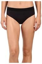 Jockey Modern Micro Seamfree(r) Hi Cut (Black) Women's Underwear