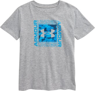 Under Armour Murk Mixed Boxed Logo Graphic Tee