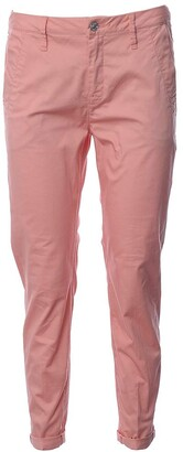 G Star Women's Bronson Mid Rise Skinny Fit Chino in King Stretch Broken Twill Pearil