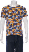 Burberry Abstract Print Jersey T-Shirt