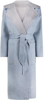 Liska Belted Double-Breasted Coat