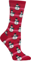 Hot Sox Women's Snowmen Socks
