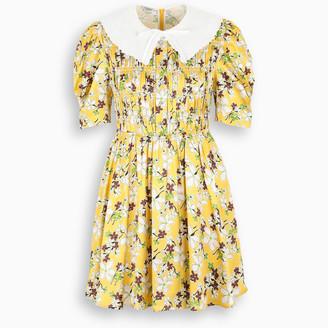 Miu Miu Floral print mini dress