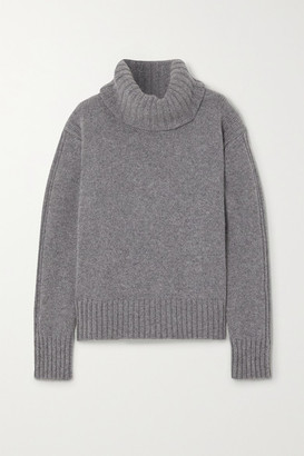 &Daughter + Net Sustain Roshin Wool Turtleneck Sweater - Gray