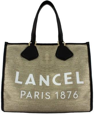 Lancel Jute Summer Tote