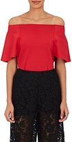 Valentino Women's Off-The-Shoulder Top-RED