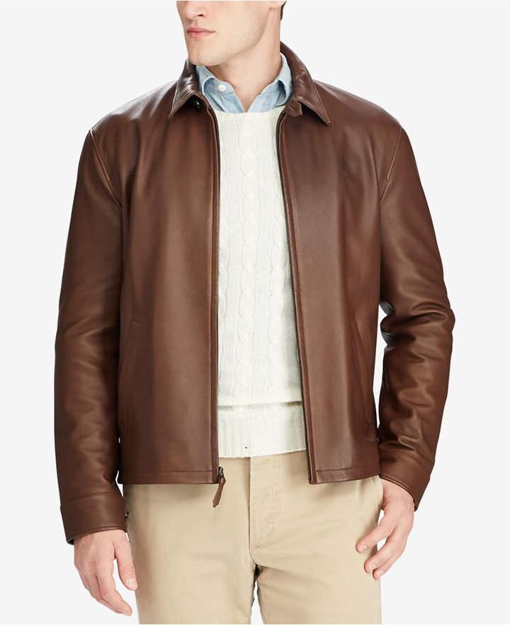 Polo Ralph Lauren Men Leather Jacket