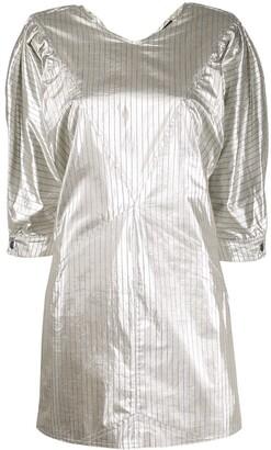 Isabel Marant Pinstriped Mini Dress