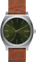 Nixon Sand Time Teller Gator Watch