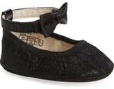Stuart Weitzman Lacie Crib Shoe (Baby Girls)