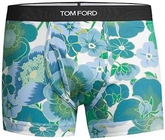 Tom Ford Poppy Stretch Cotton Boxer Briefs