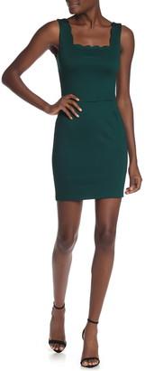 Love...Ady Scallop Bodycon Dress