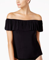 Magicsuit Off-The-Shoulder Underwire Tankini Top