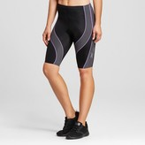 CW-X Women's Hip and Quad Support PerformX Shorts - Black/Grey/Lavender