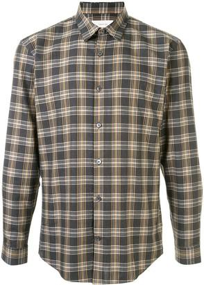 Cerruti Long Sleeve Checked Shirt