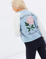 A Teen Spirit Bomber Jacket