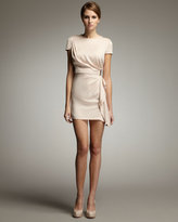 Alba Side-Drape Minidress