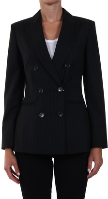 Max Mara Pinstripe Double-Breasted Blazer