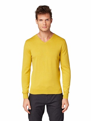 Tom Tailor Men's V-Neck Jumper