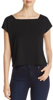 Eileen Fisher Square Neck Crop Top - 100% Exclusive