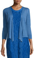 Nic+Zoe 4-Way Linen-Blend Knit Cardigan, Plus Size