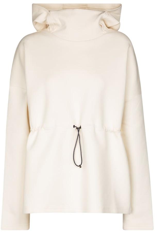 Varley Jasmine cotton-blend hoodie