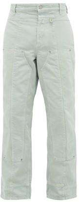 Jacquemus Le De Nimes Soleil Straight-leg Jeans - Mens - Green