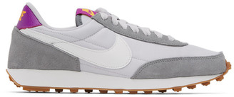 Nike Grey and White Daybreak Sneakers