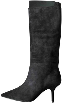 Yeezy Black Leather Boots