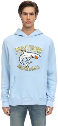 Printed Cotton Sweatshirt Hoodie