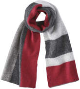 Joe Fresh Women's Colour Block Scarf, Red (Size O/S)