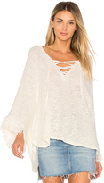 LAmade Sedona Poncho in Cream. - size S (also in XS)