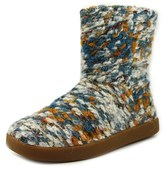 Sanuk Toasty Tails Short Knit Round Toe Canvas Boot.