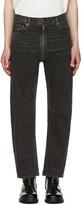 Vetements Black Levis Edition Zip Around Jeans