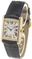 Cartier 'Tank Louis' analog watchquar