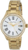 Nautica Women's Bfd 101 N16661M Stainless-Steel Quartz Watch