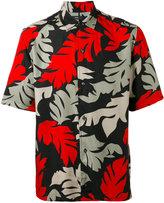 Diesel leaf print shirt - men - Viscose - S