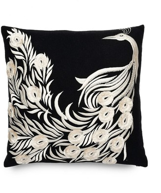 Natori Mayon Peacock Embroidery Pillow Case
