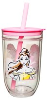 Zak Designs Disney®;Princess 15oz Tumbler with Lid and Straw Pink