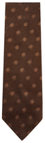 Tom Ford Embroidered Dots Silk Tie