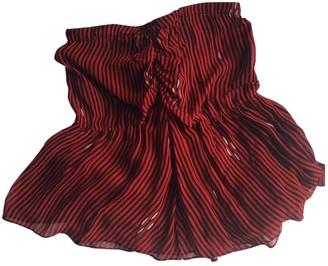 Isabel Marant Red Skirt for Women
